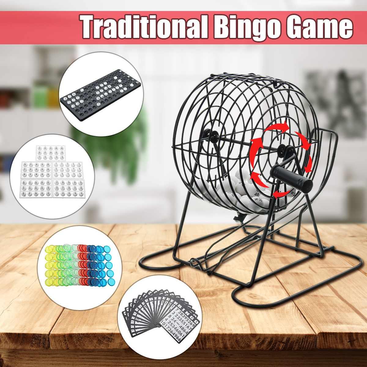 Us $12.24 18% Off|Spor Ve Eğlence'ten Bingo'de 01 75 Topları Piyango  Makinesi Çekme Makinesi Parti Bingo Oyunu Şanslı Topları Oyunu Geleneksel  Bingo ... à Cec Piscine