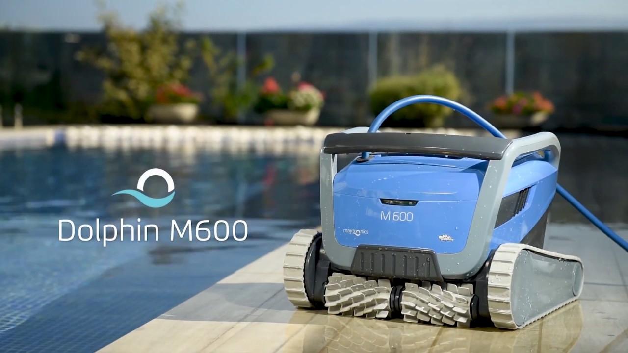 Utilisation Robot Piscine Électrique Dolphin M600 - Robotpiscine.fr concernant Location Robot Piscine