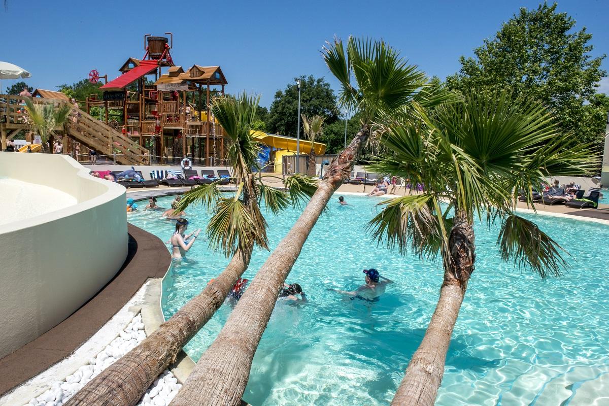 Vacances Fun Entre Amis intérieur Camping Landes Avec Piscine