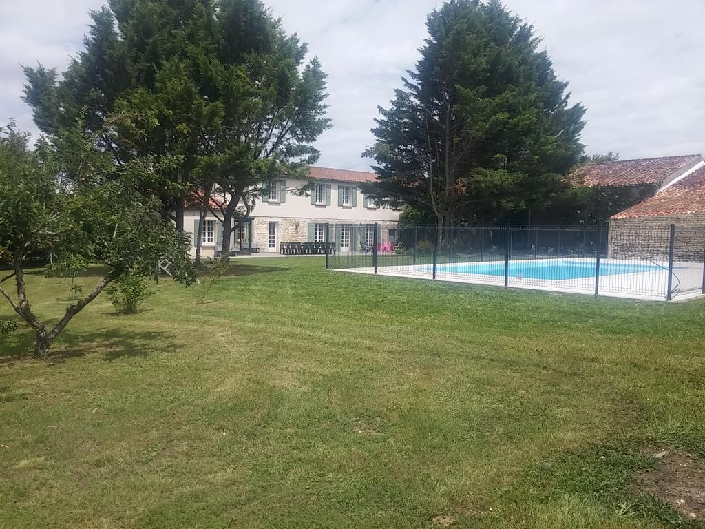 Vacation Home Grande Maison Au Calme, Bignay, France ... pour Piscine Cognac