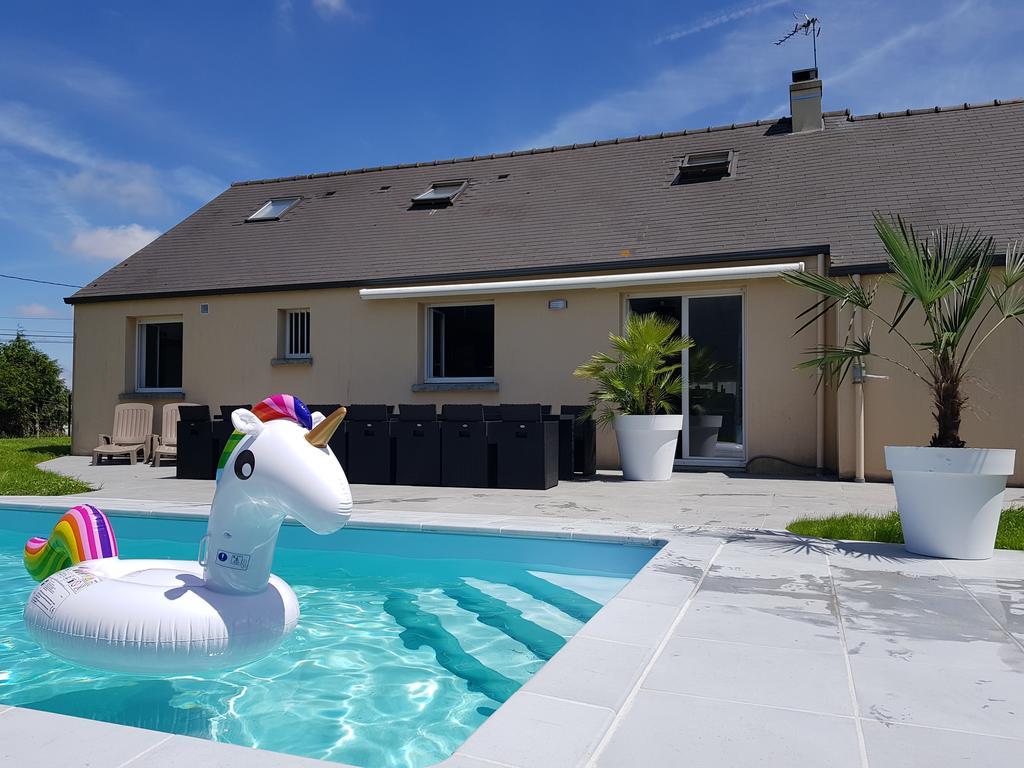 Vacation Home Régine, Montauban-De-Bretagne, France ... pour Piscine Saint Meen Le Grand
