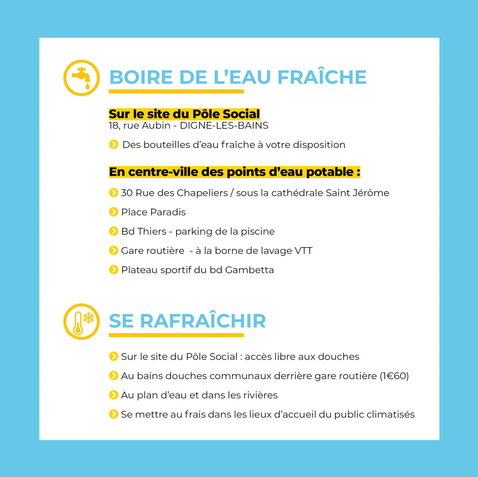 Vagues De Chaleur : Des Précautions À Prendre - Ville De ... tout Piscine Digne
