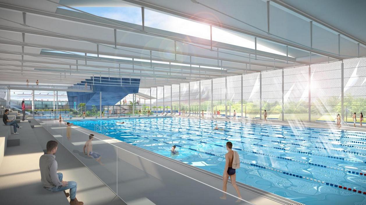 Valenciennes. Au Nouveau Centre Aquatique, L'entrée Sera De ... destiné Piscine Valenciennes