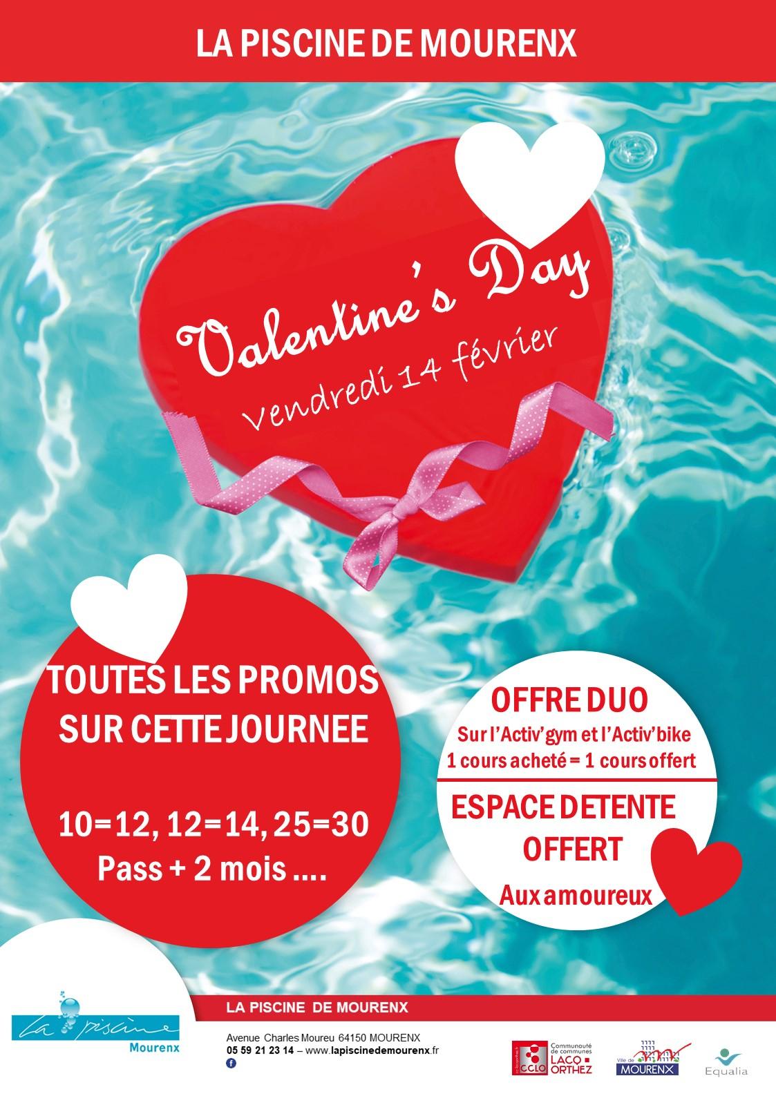 Valentine's Day - La Piscine De Mourenx pour Piscine De Mourenx