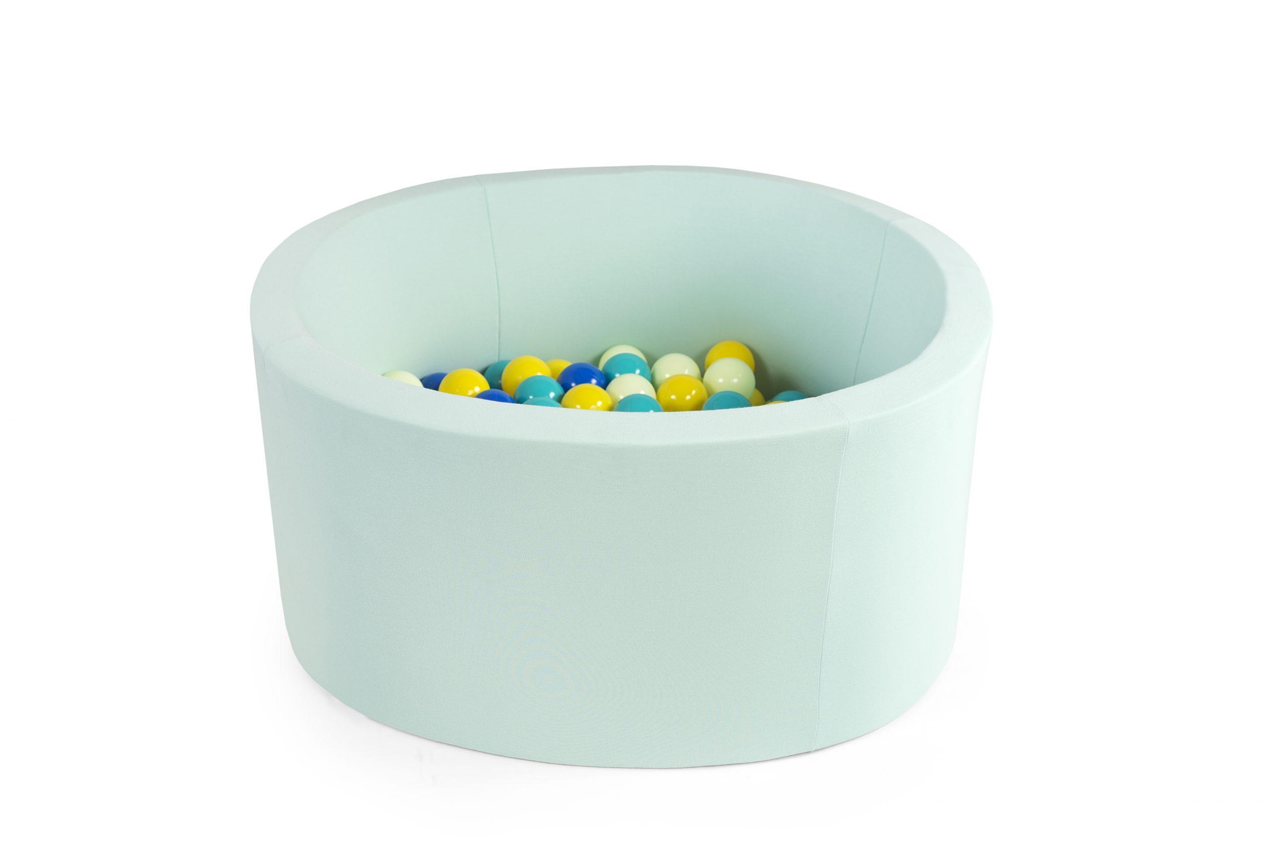 Vente De Piscine À Balles 90*40 À Personnaliser Pour Bébés ... dedans Piscine A Balle En Mousse