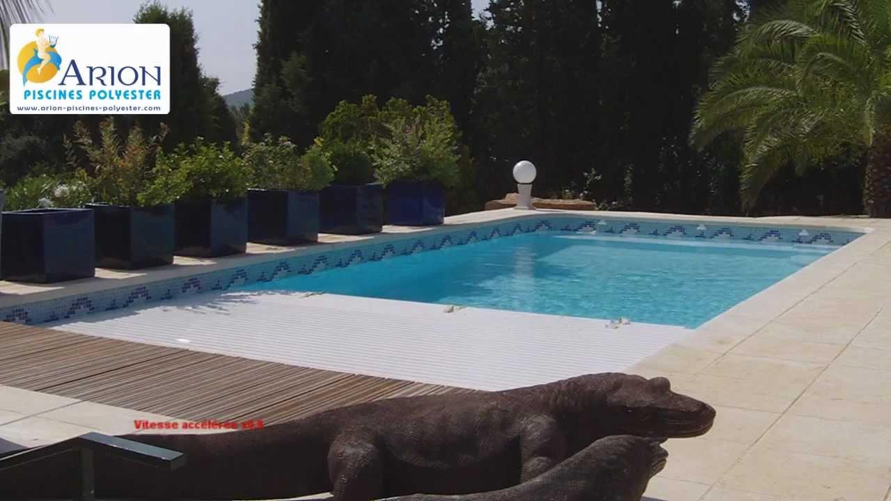 Vente Et Pose De Piscines Coques À Martigues - Neptune ... avec Volet Immergé Piscine