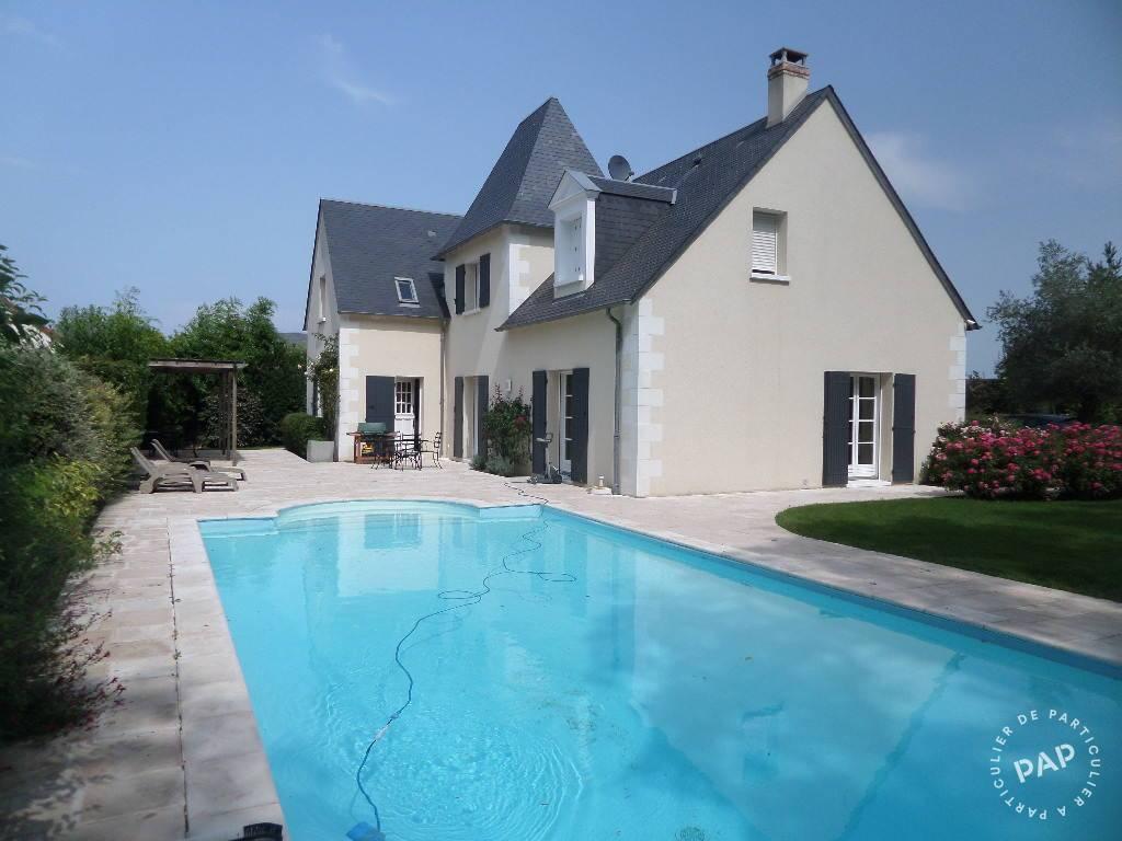 Vente Maison 250 M² Chambray-Lès-Tours (37170) - 250 M² ... intérieur Piscine Chambray Les Tours