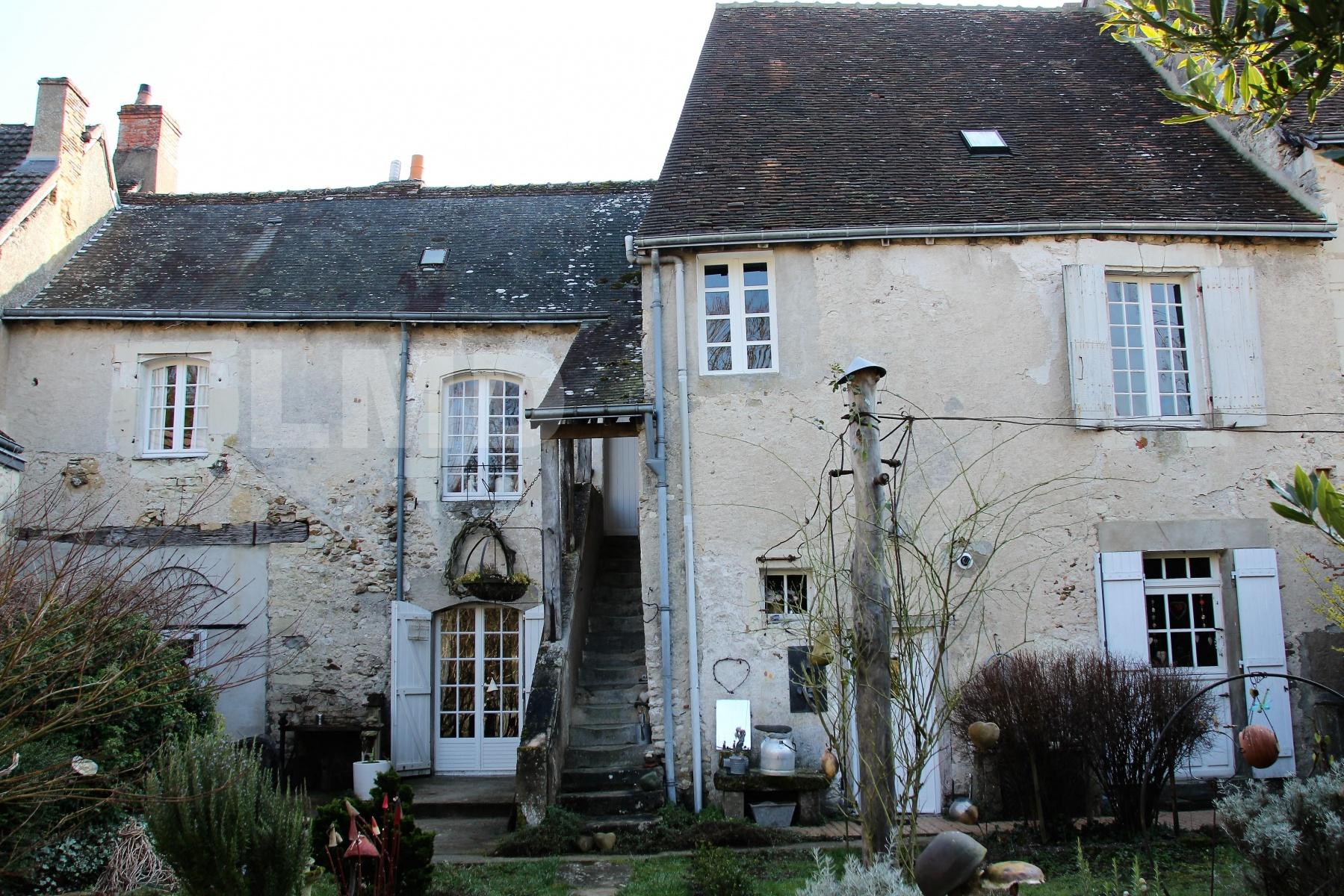 Vente Maison Ancienne 7 Pièce(S) Chatillon-Sur-Indre (36700) serapportantà Piscine Chatillon Sur Indre