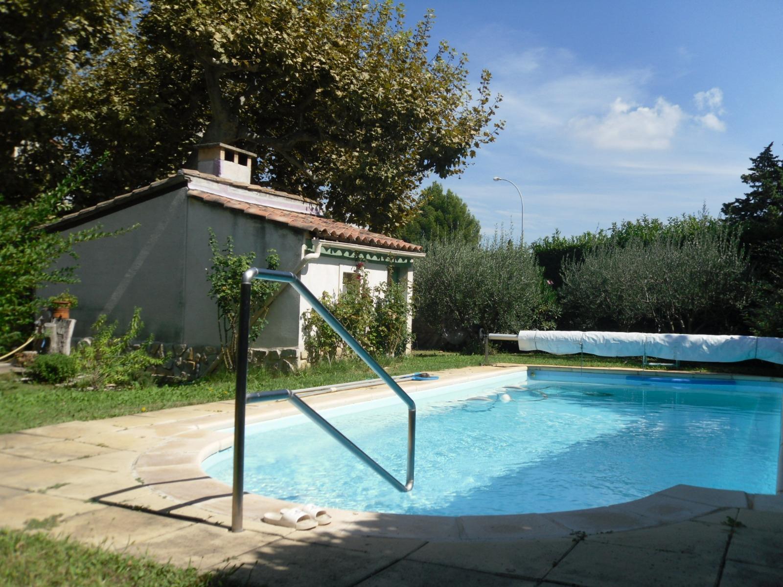 Vente Mas Montfavet (84140), 170M² Avec 7 Pièce(S) Dont 4 ... dedans Piscine Montfavet