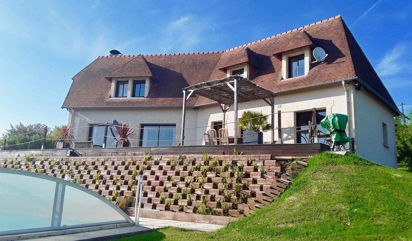 Vente Propriété De Luxe Bonneville-Sur-Touques | 749 900 ... à Piscine De Bonneville