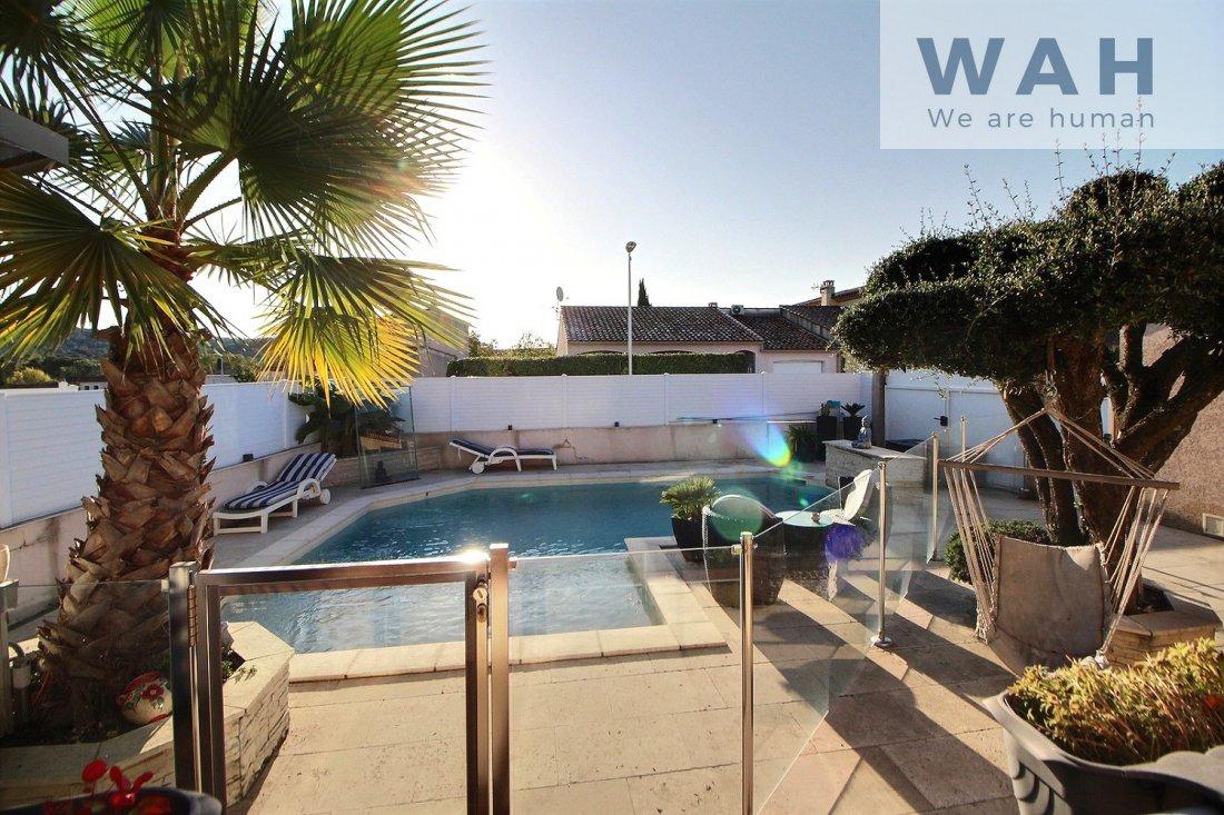 Vente Vente Villa 5 Pieces + Appartement Independant - 34270 ... serapportantà Piscine St Mathieu De Treviers