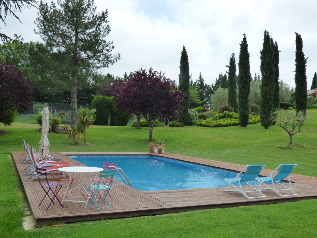 Vente Villa De Grand Standing Sur 1 Ha De Parc - Piscine Et ... destiné Piscine Auch