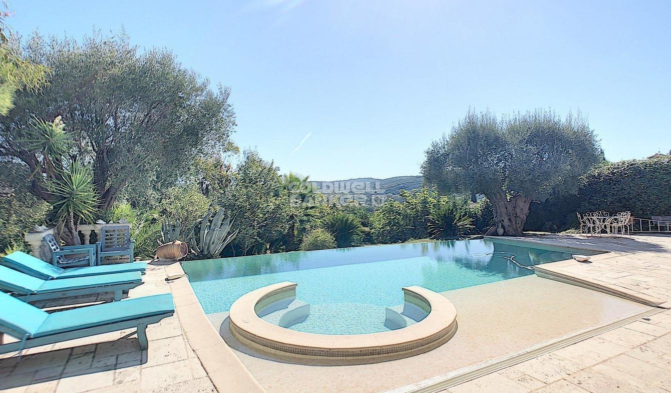 Vente Villa De Luxe La Colle-Sur-Loup   1 690 000 €   330 M² concernant Piscine La Colle Sur Loup