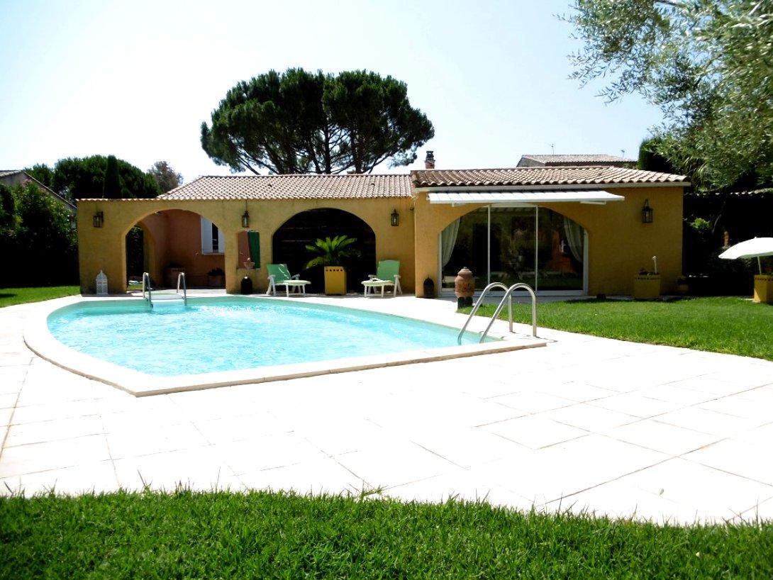 Vente Villa T6, Grande Remise Et Piscine Sur 2000M2 De Terrain tout Piscine Servian