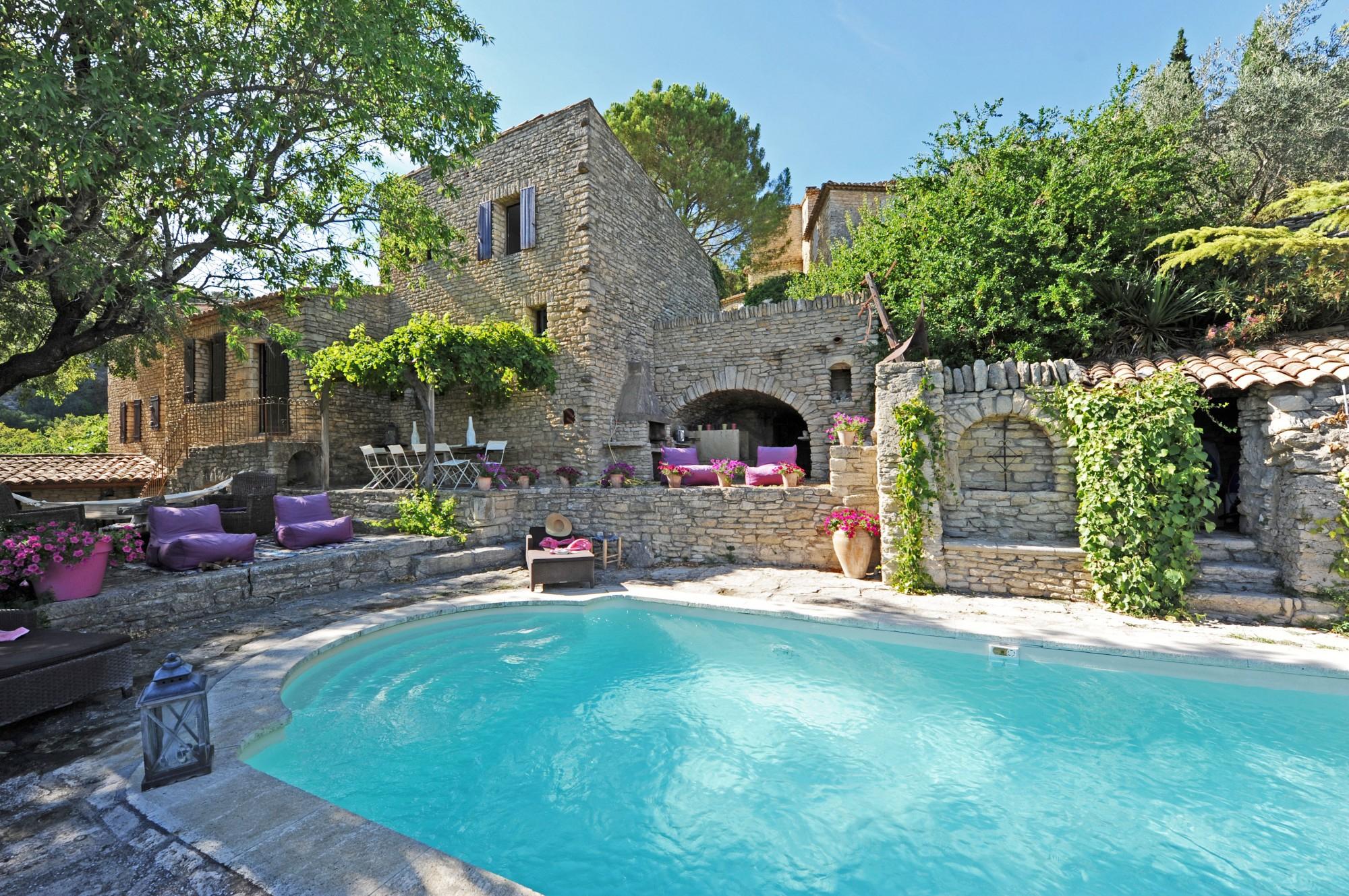 Ventes Maison De Village À Vendre En Luberon Avec Jardin ... dedans Maison Avec Piscine A Vendre