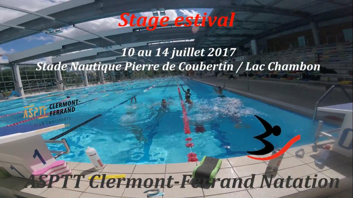 Vidéo] Stage Estival Natation Asptt – Juillet 2017 | Asptt ... encequiconcerne Piscine Coubertin Clermont