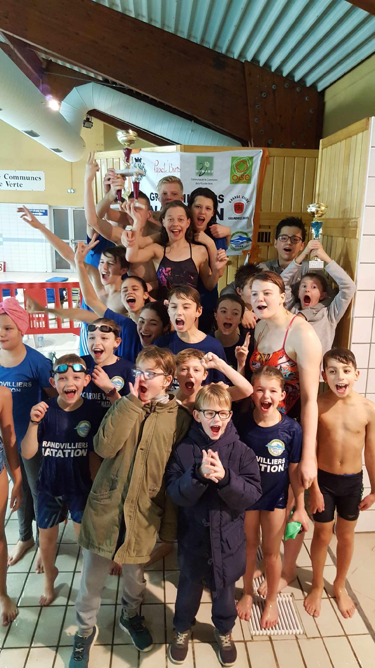 Viiième Trophée Plus Gros Meeting De L'oise – Picardie Verte ... pour Piscine Grandvilliers