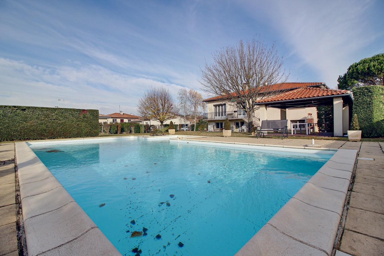 Villa 4 Pièces 115 M2 Piscine Et Terrain De 1 759 M2 À ... serapportantà Piscine Villefranche De Lauragais