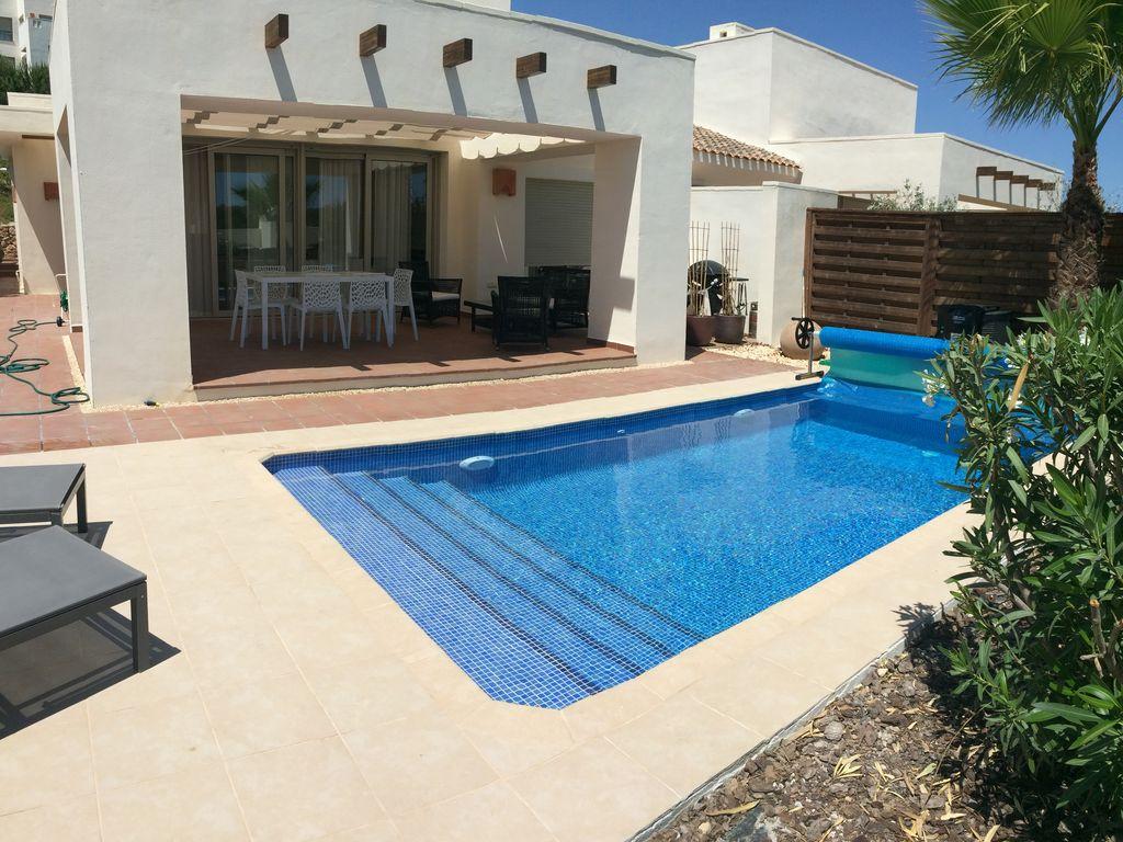 Villa Avec Piscine Dans Le Plus Beau Golf D'espagne A Proximité De La Mer -  San Miguel De Salinas avec Location Maison Espagne Avec Piscine Pas Cher