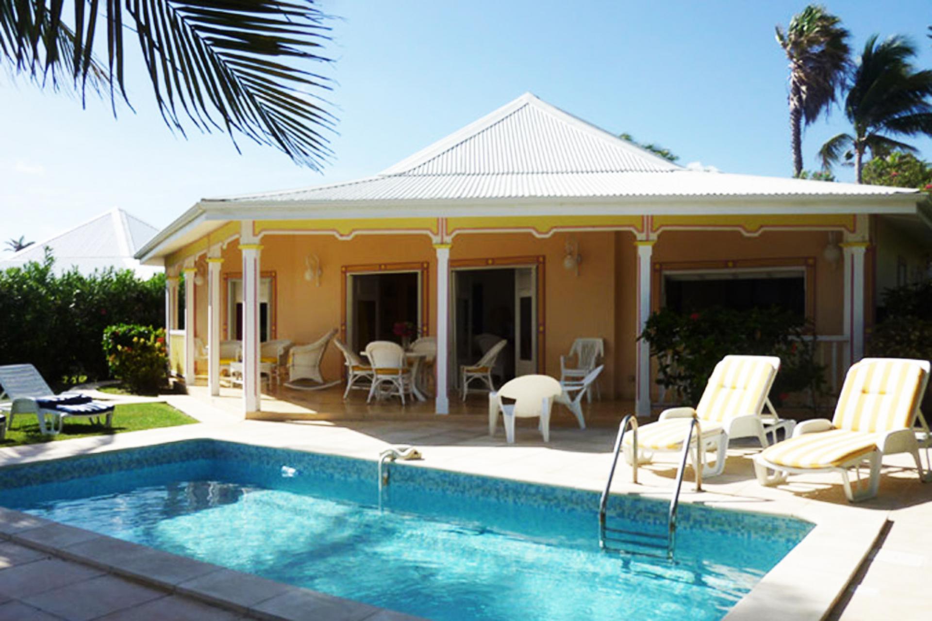 Villa Avec Piscine Et Vue Mer - Ref: Gpsf20 (Saint François, Guadeloupe) avec Piscine Tarare