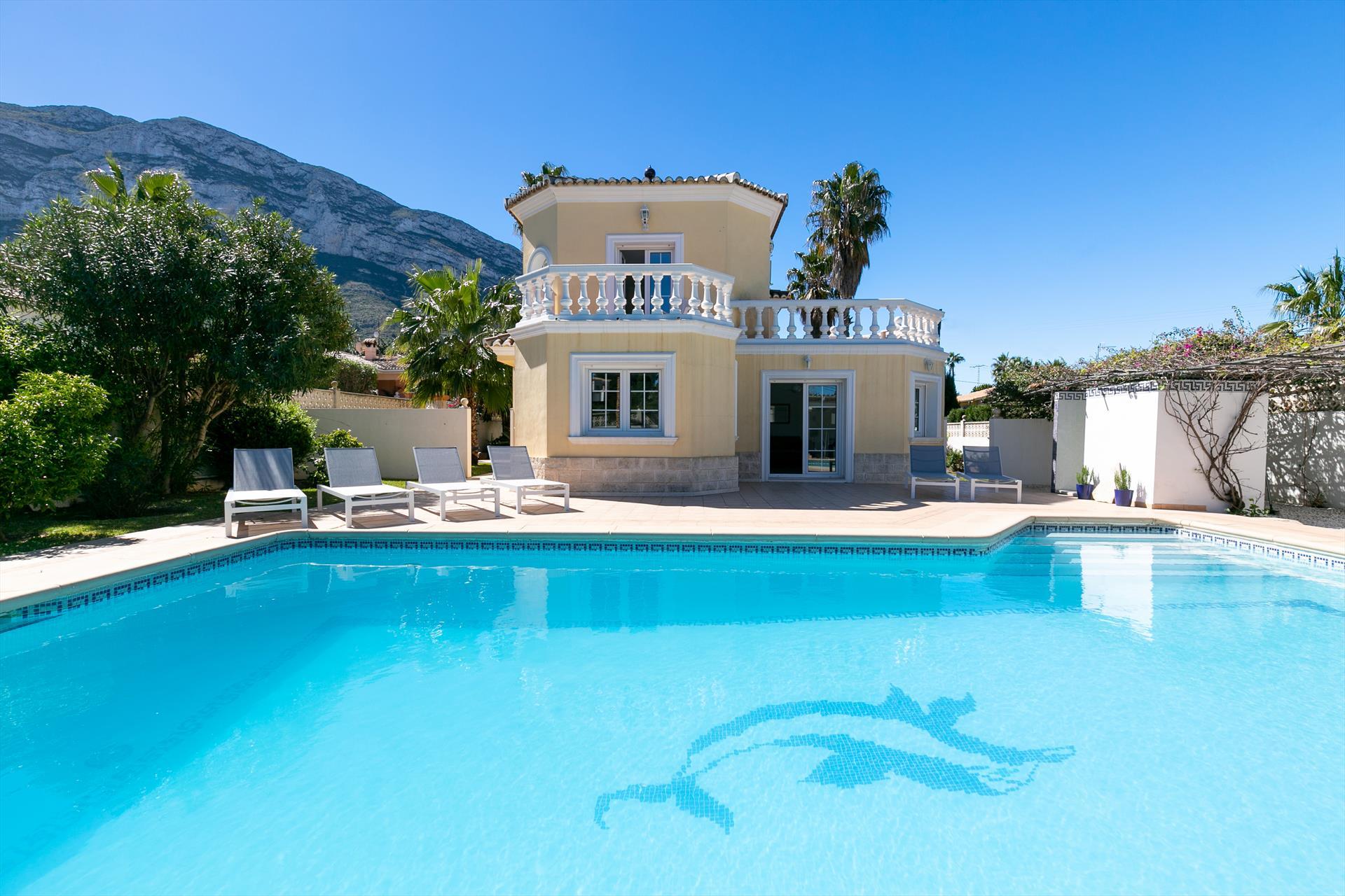 Villa Coral Maison De Vacances À Denia, Espagne intérieur Villa En Espagne Avec Piscine