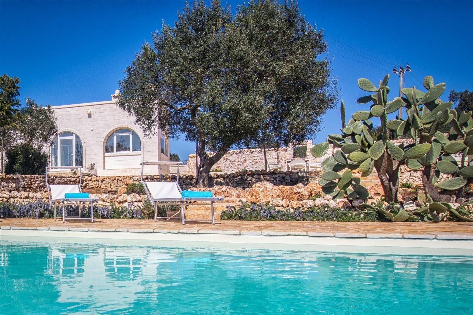 Villa Cristina Location De Vacances - Couchages 6 Dans 3 ... concernant Location Maison Piscine Privée Dernière Minute