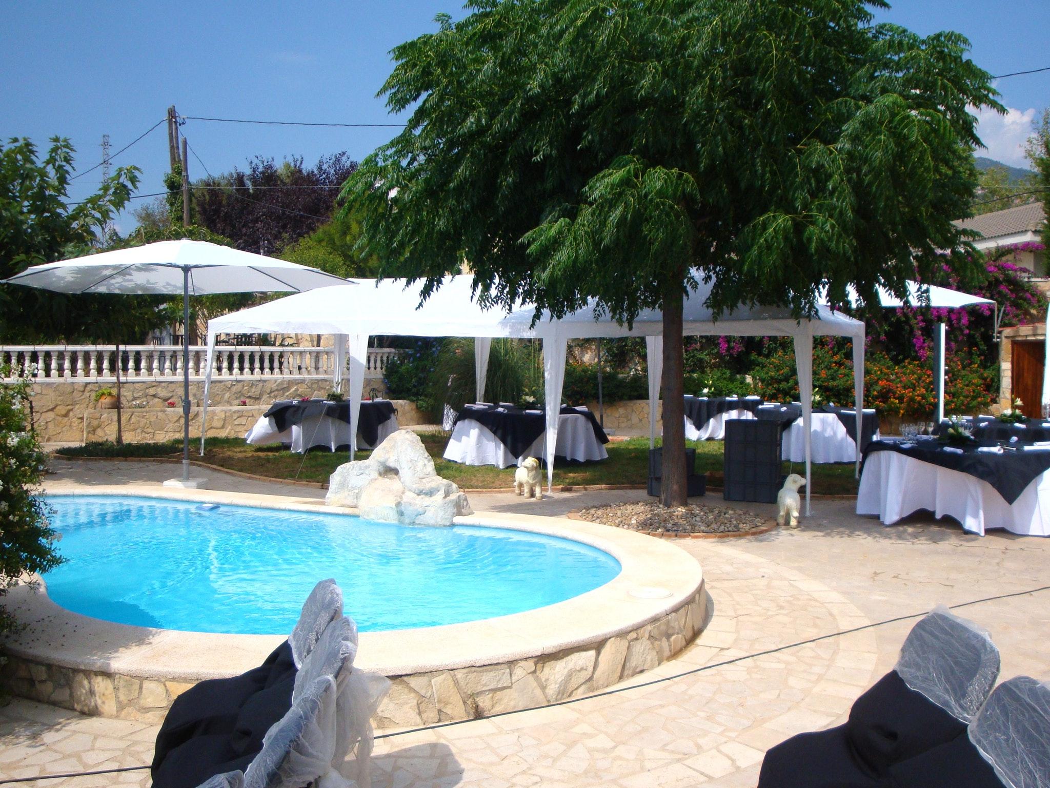 Villa De 8 Chambres À Alforja, Avec Magnifique Vue Sur La ... concernant Hotel Piscine Privée