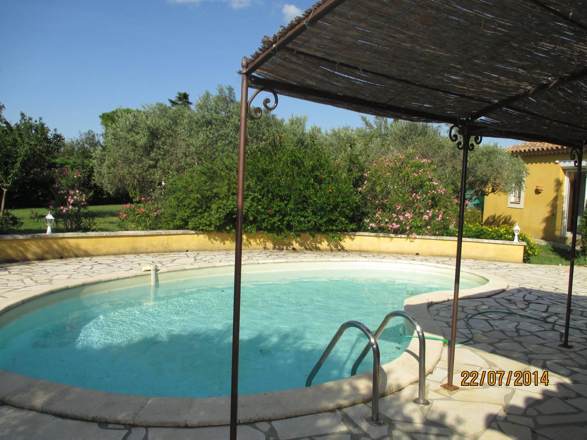 Villa De Charme 5 Saint Martin De Crau-13310 En Campagne Sur ... destiné Piscine Saint Martin De Crau