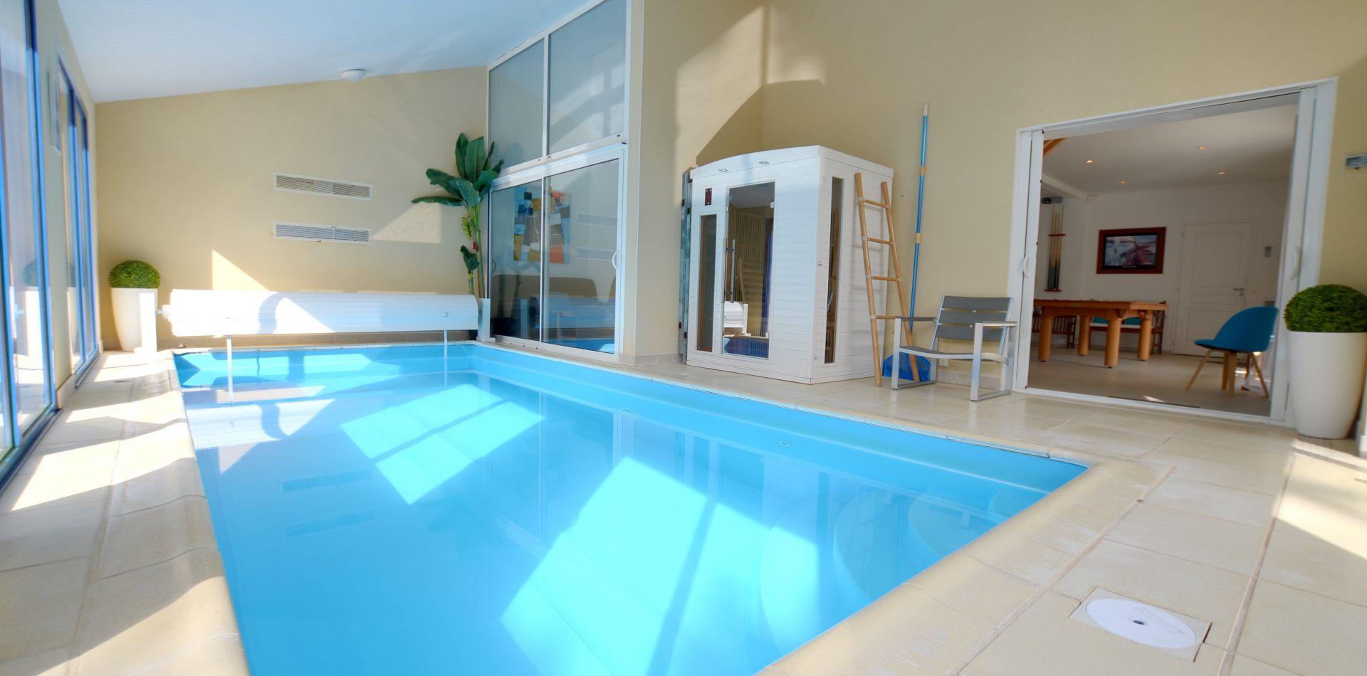 Villa Eden – Maison De Vacances***** En Vendée Avec Piscine ... concernant Location Maison Avec Piscine Intérieure