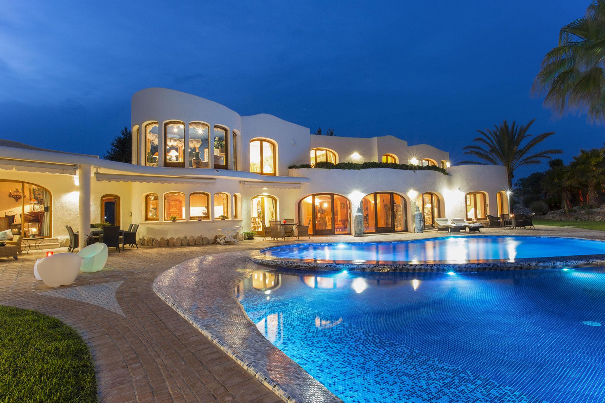 Villa En Espagne À Louer Avec Piscine. Location Maison Costa ... pour Villa En Espagne Avec Piscine