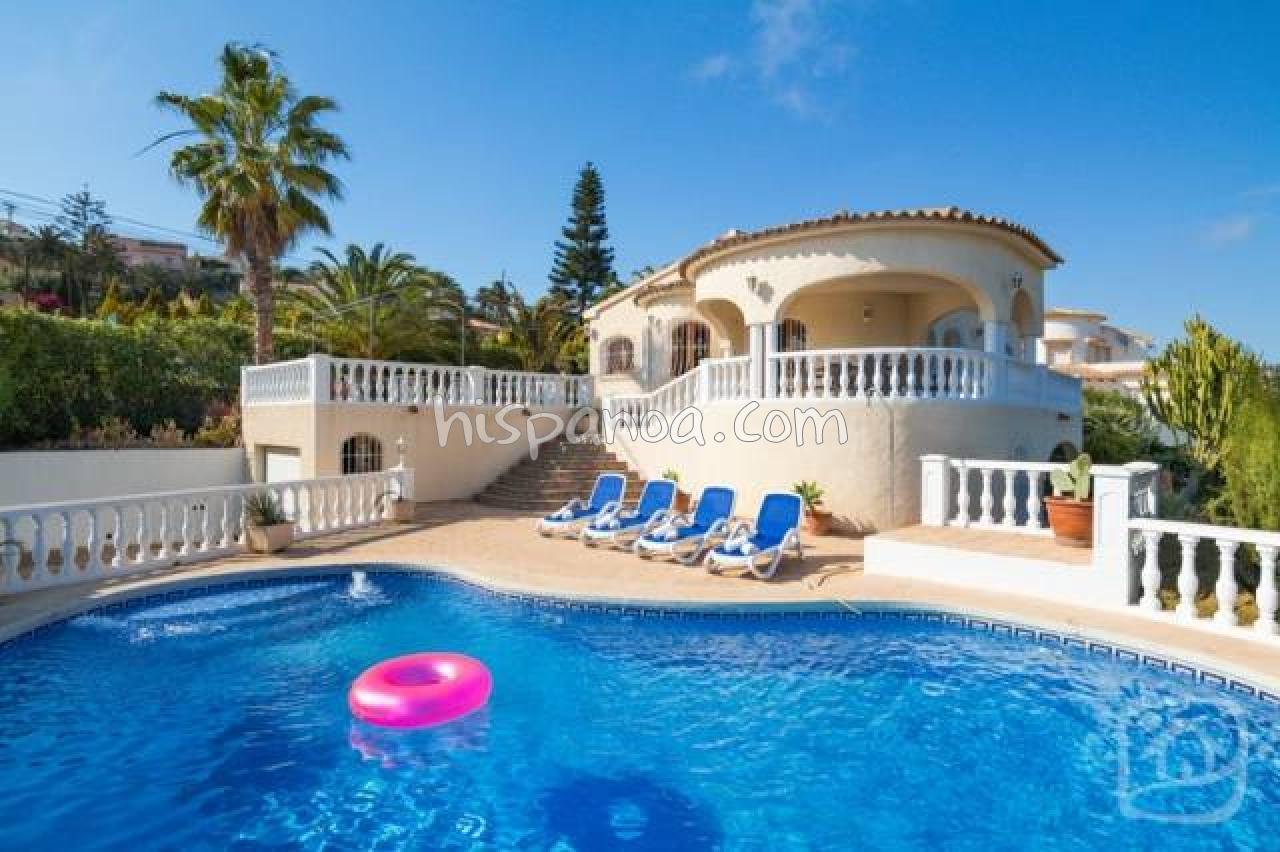 Villa Espagne Location Calpé - Avec Vue Mer Avec Hispanoa dedans Location Villa Calpe Avec Piscine