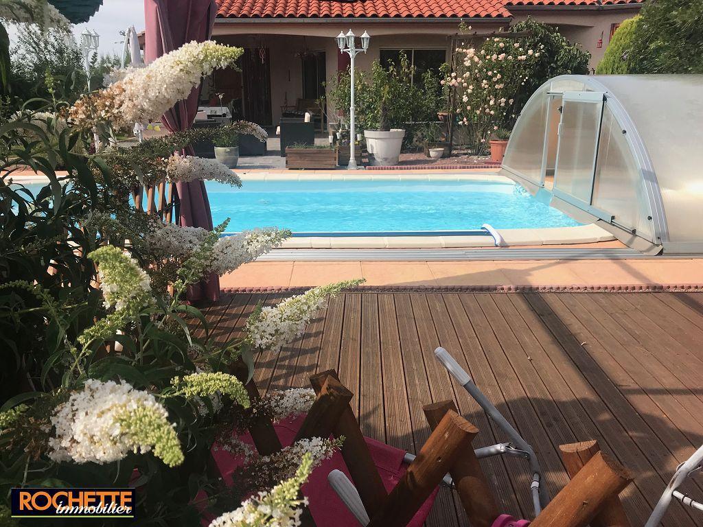 Villa Feurs 307000€ | Rochette Immobilier Agence Immobiliere ... concernant Piscine Feurs
