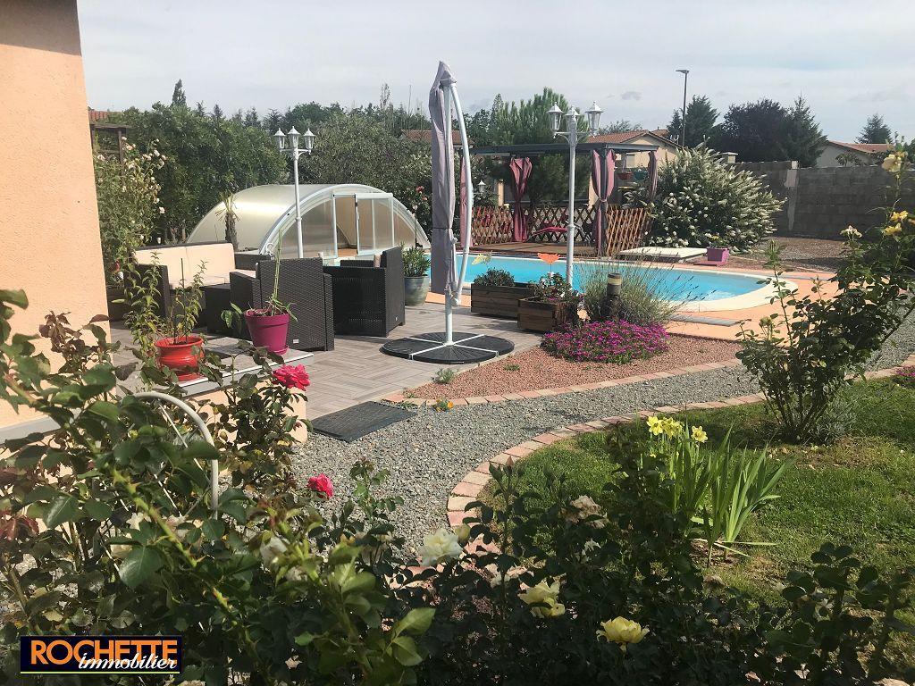Villa Feurs 307000€ | Rochette Immobilier Agence Immobiliere ... encequiconcerne Piscine De Feurs