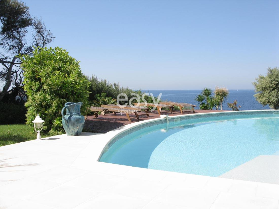 Villa For Rent With Sea View For Shooting Filming Near ... serapportantà Location Maison Avec Piscine France