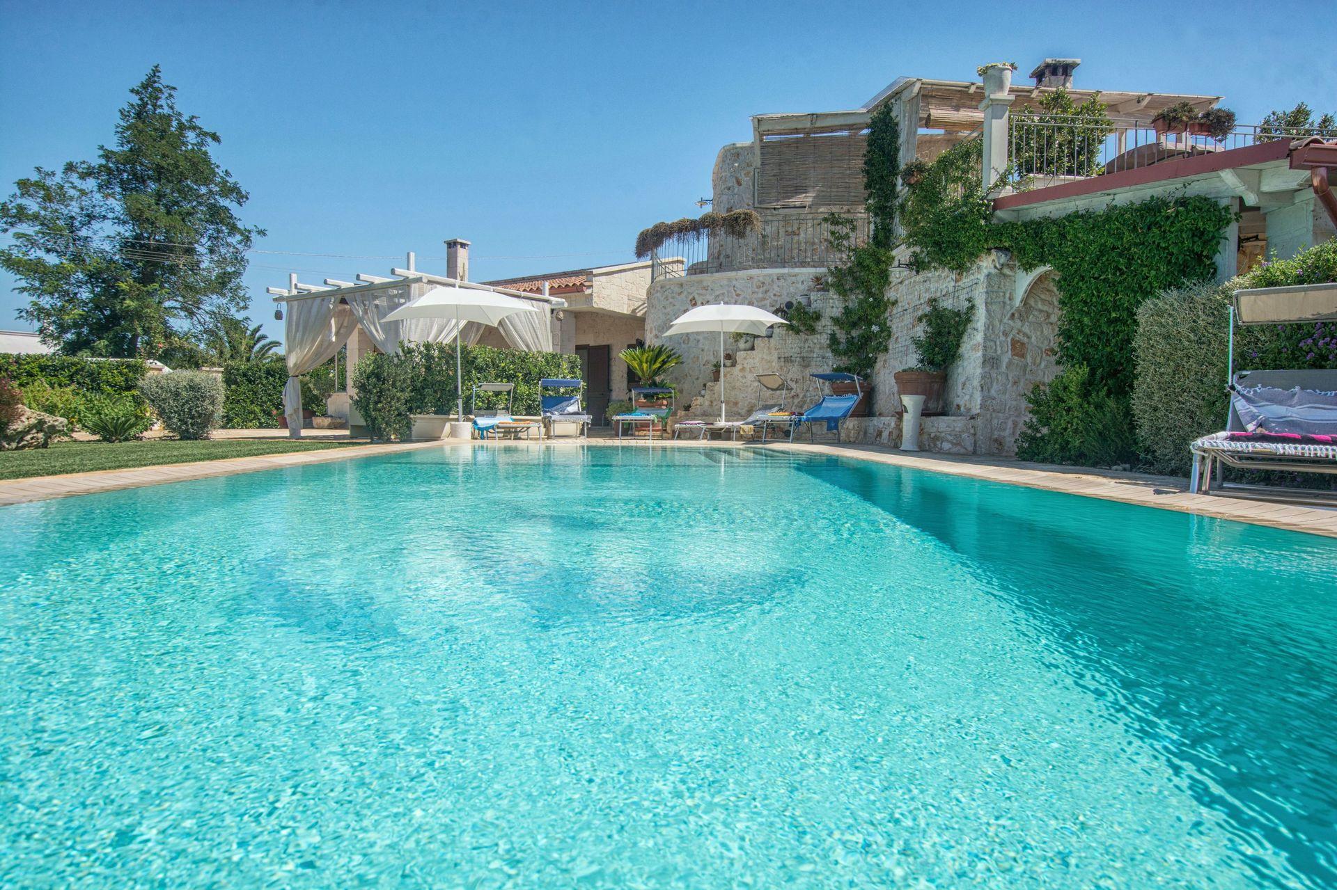 Villa Il Saraceno Location De Vacances - Couchages 8 Dans 4 ... concernant Location Maison Piscine Privée Dernière Minute