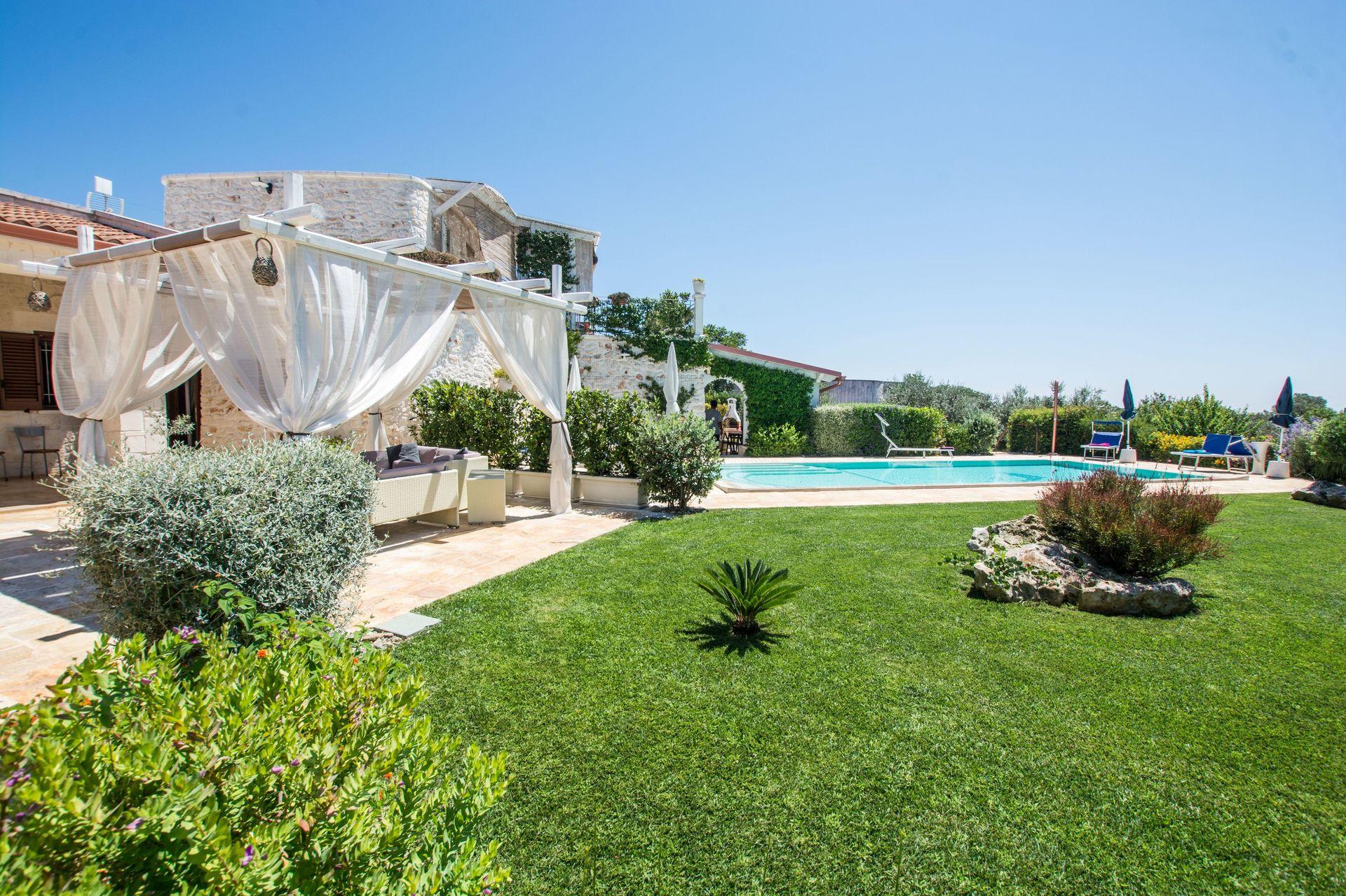 Villa Il Saraceno Location De Vacances - Couchages 8 Dans 4 ... destiné Location Maison Piscine Privée Dernière Minute