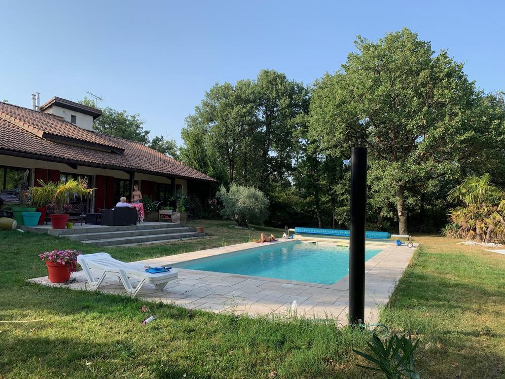 Villa Les Chesnes 10Pers Sur Parc 10000M² Piscine Chauffée ... serapportantà Cash Piscine Toulouse