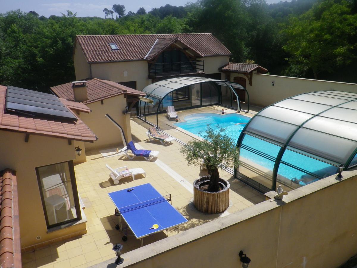 Villa Maison Avec Piscine Chauffer Spa Jaccuzy, Castels ... destiné Chauffer Une Piscine