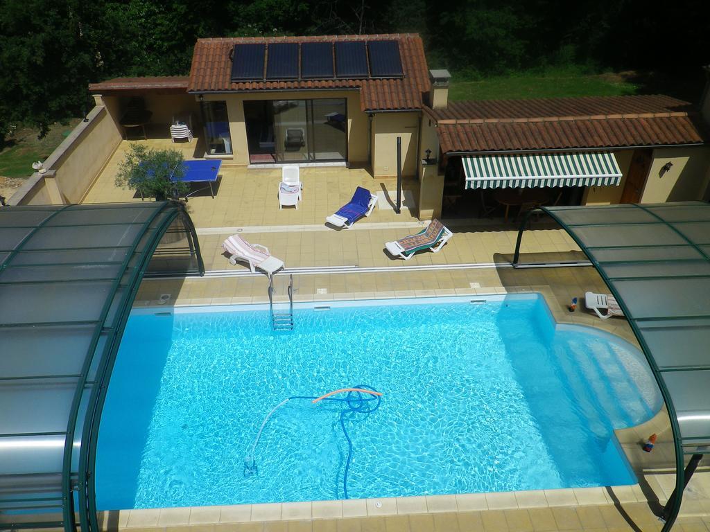 Villa Maison Avec Piscine Chauffer Spa Jaccuzy, Castels ... tout Chauffer Une Piscine