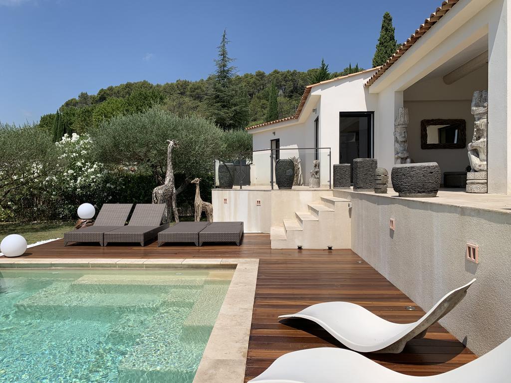 Villa Moderne En Provence Avec Piscine Privée Chauffée ... dedans Hotel Piscine Privée France