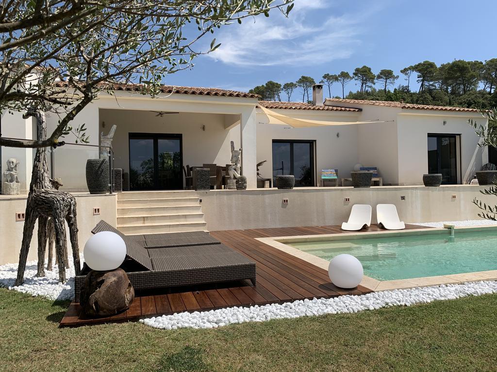 Villa Moderne En Provence Avec Piscine Privée Chauffée ... dedans Hotel Piscine Privée