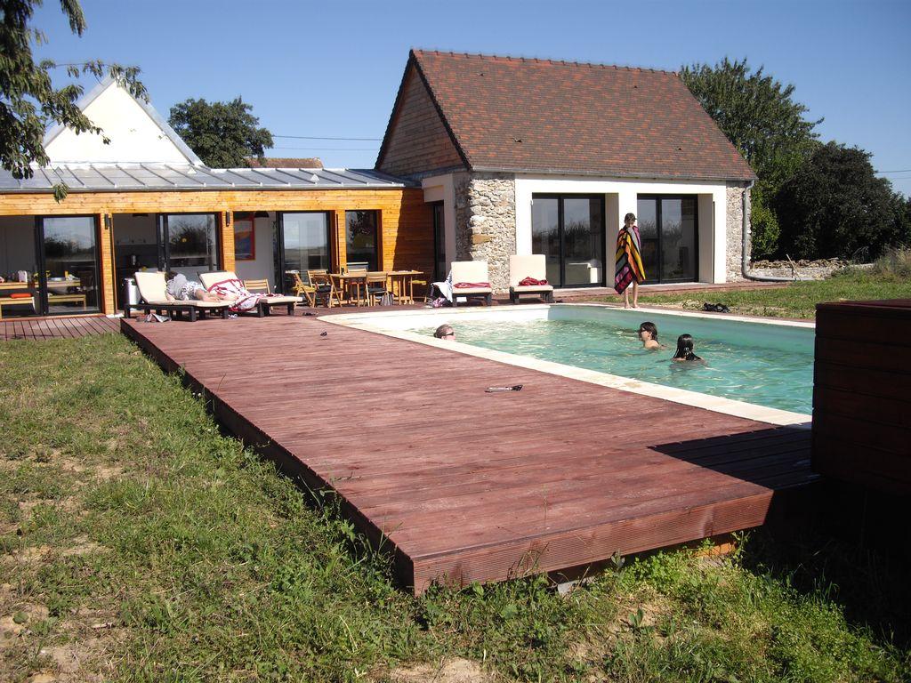 Villa Piscine 10 Pers 95Km De Paris - Les Essarts-Le-Vicomte encequiconcerne Piscine Sezanne