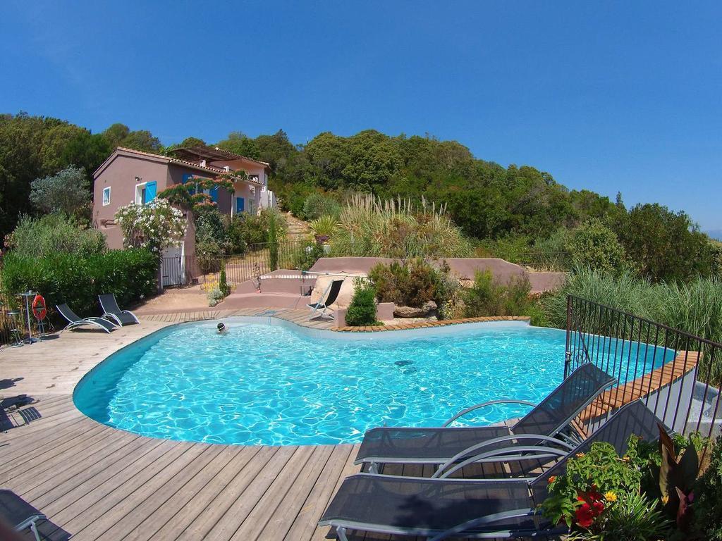 Villa & Piscine Privée Vue Mer Panoramique Extrèmement Calme ... tout Hotel Piscine Privée