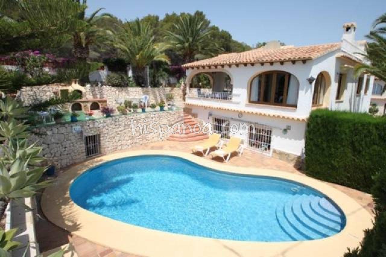 Villa Pour 6 Avec Piscine Privée Sans Vis À Vis Sur La Costa ... dedans Location Maison Espagne Avec Piscine Pas Cher