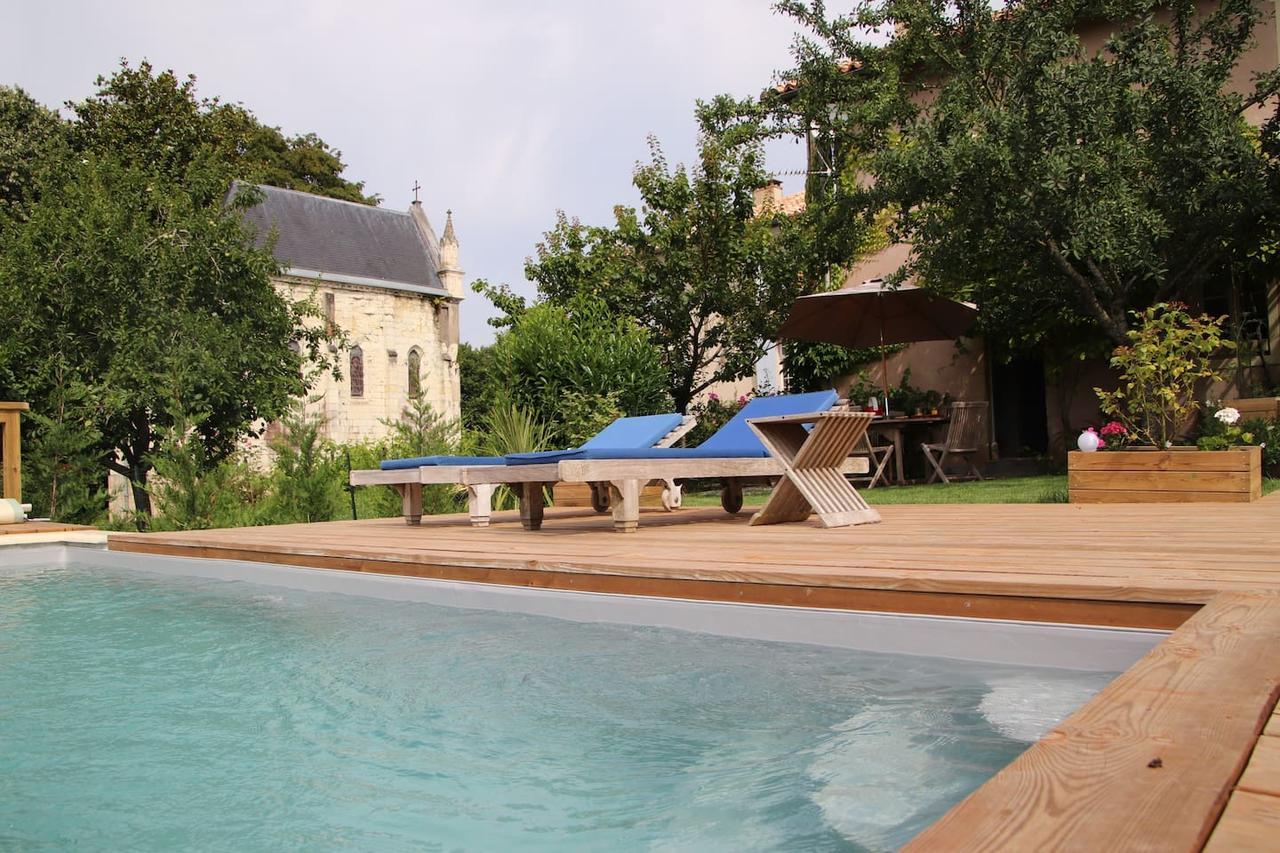 Villalar Les Ecuries Du Chateau Tauziet (Fransa Montfort-En ... pour Piscine Tauziet