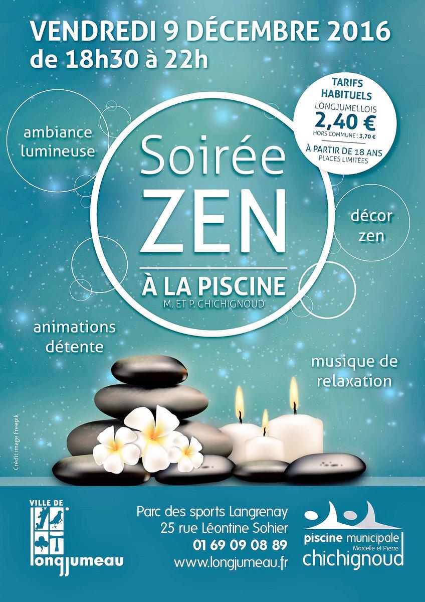 """Ville De Longjumeau On Twitter: """"[Soirée #zen] : Profitez De ... intérieur Piscine Longjumeau"""