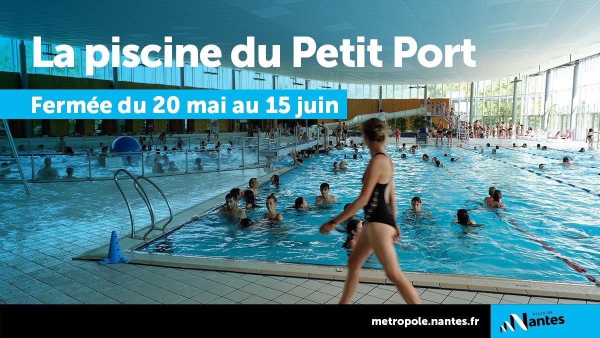 """Ville De Nantes On Twitter: """"🏊♂️ La #piscine Du Petit ... encequiconcerne Piscine Du Petit Port Nantes"""