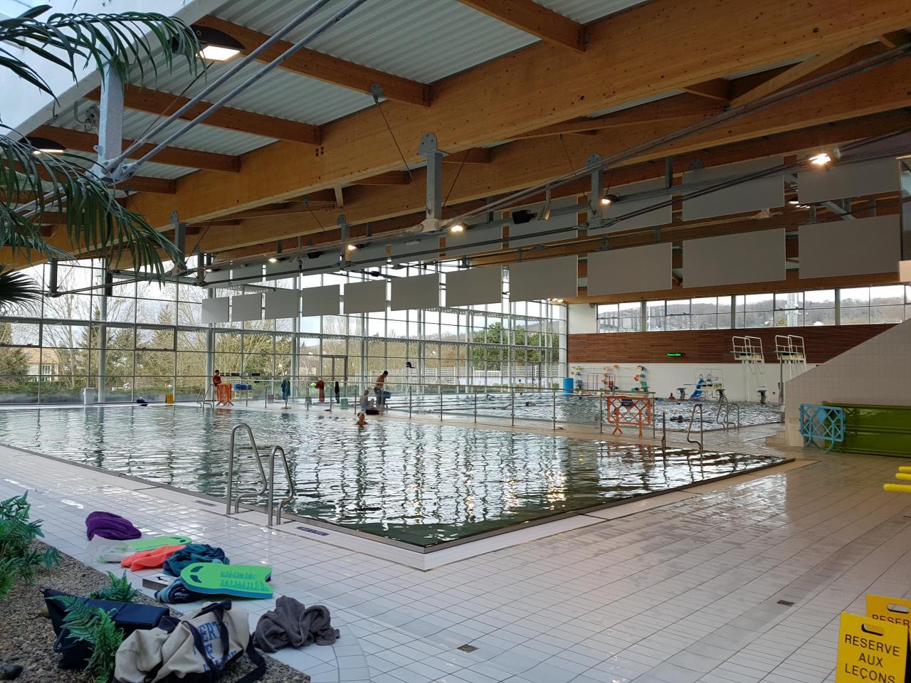 Visite De La Piscine La Vague, Soisy-Sous-Montmorency, 28 ... pour Piscine De Montmorency