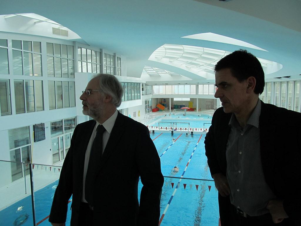 Visite Du Centre Aquatique De Vincennes | Grdf | Flickr serapportantà Piscine De Vincennes