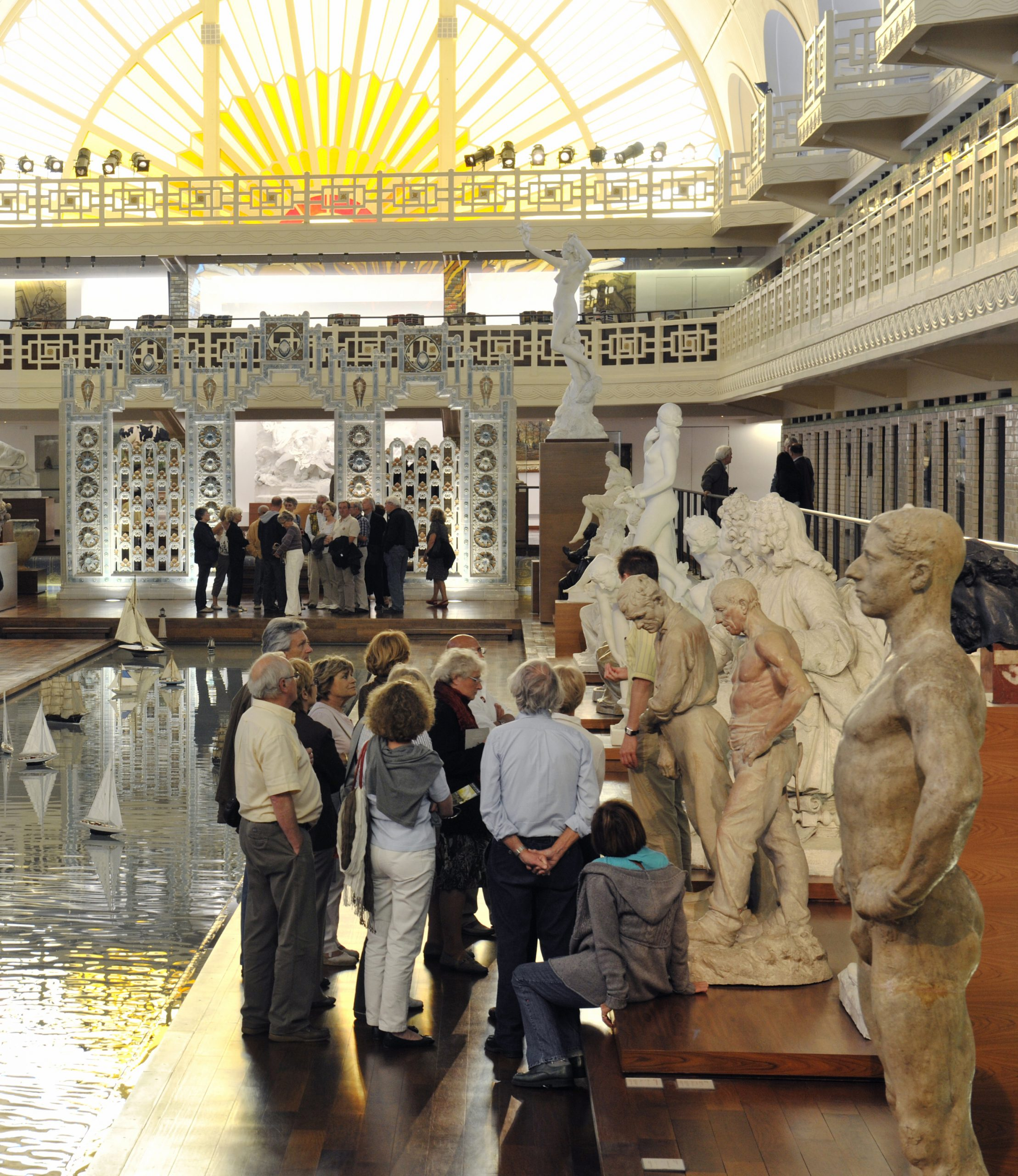 Visites Guidées En Groupe Au Musée D'art Et D'industrie De ... tout Piscine Roubaix Horaires